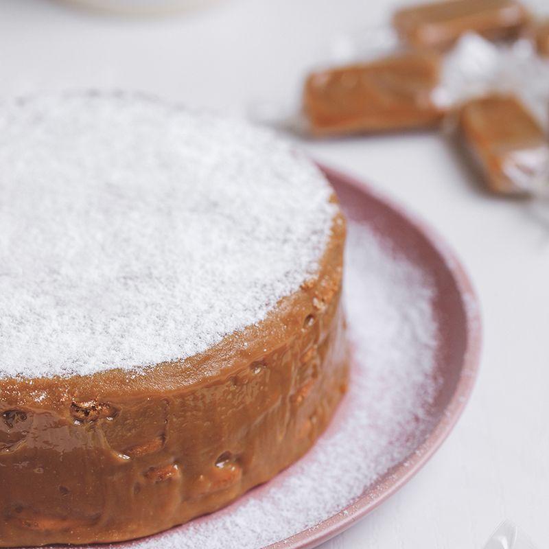 Torta Palha Caramelo