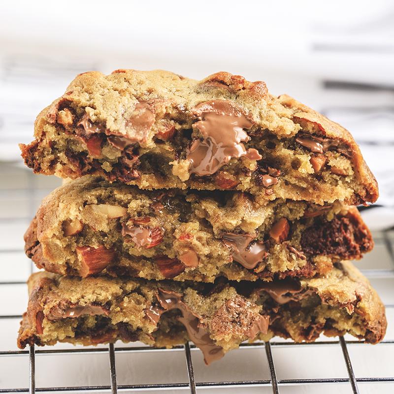 Cookie Amendoa, Chocolate e Laranja