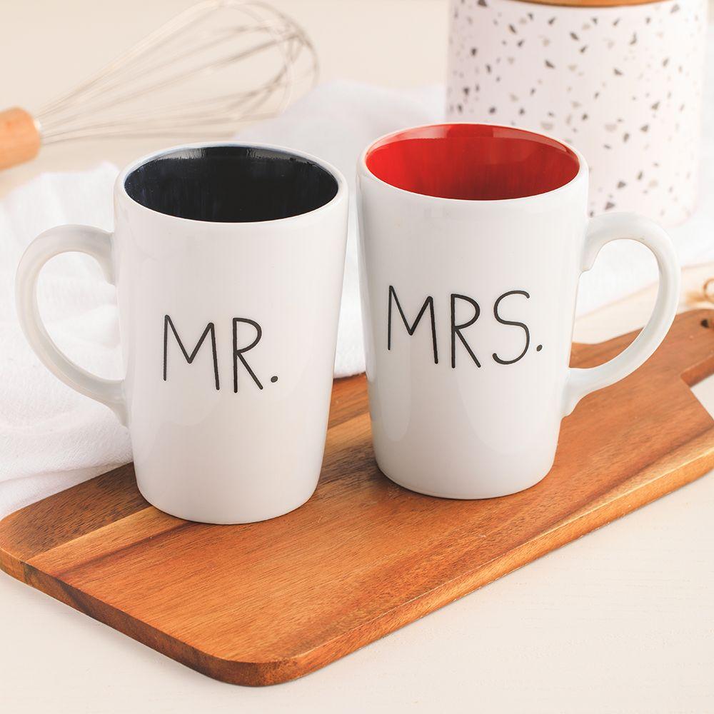 Caneca Mr. or Mrs.