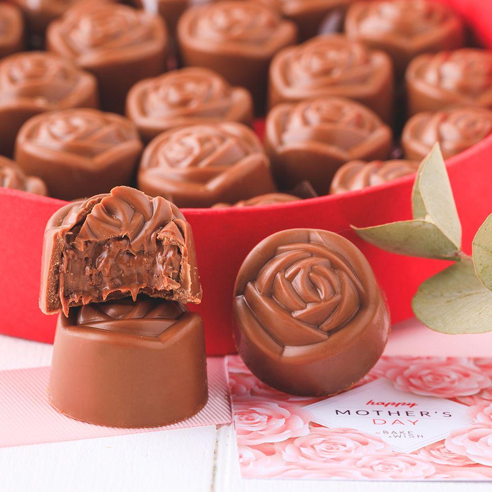 Rosas Chocolate Belga