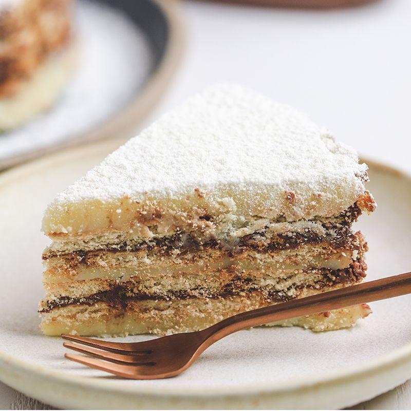 Torta Palha Ninho com Nutella