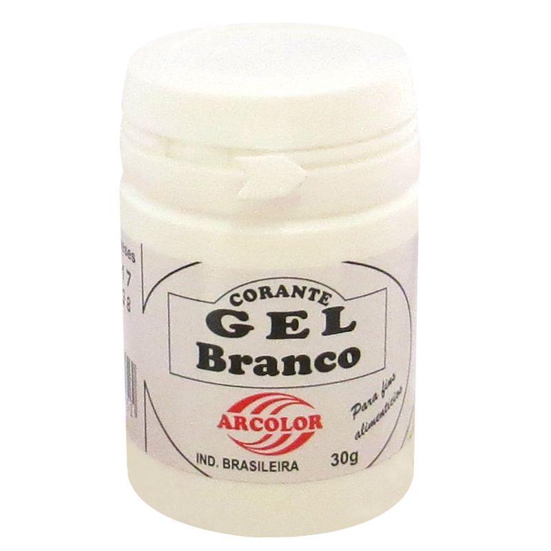 Corante gel Arcolor 30ml - Branco