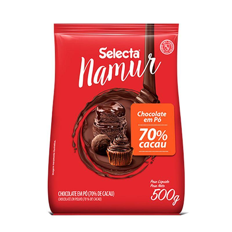 Chocolate em Pó 70% Cacau (500g) - Selecta Namur Mix