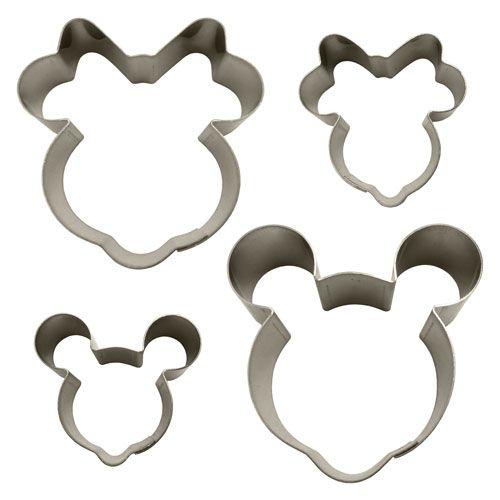 Kit Cortadores - Ratinho (Mickey e Minnie)