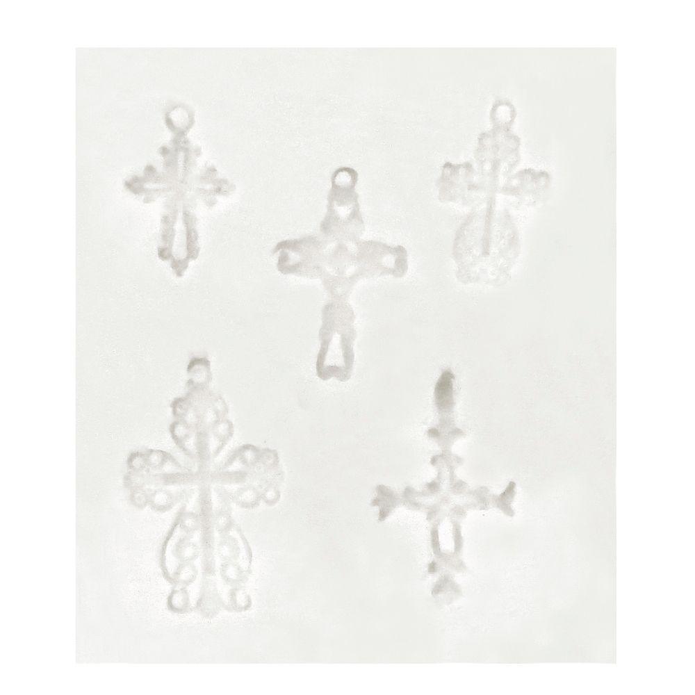 Molde de Silicone Crucifixos - Gummies