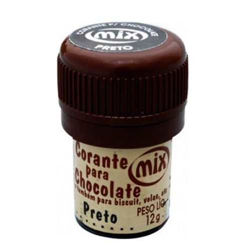 Corante para Chocolate Mix - Preto