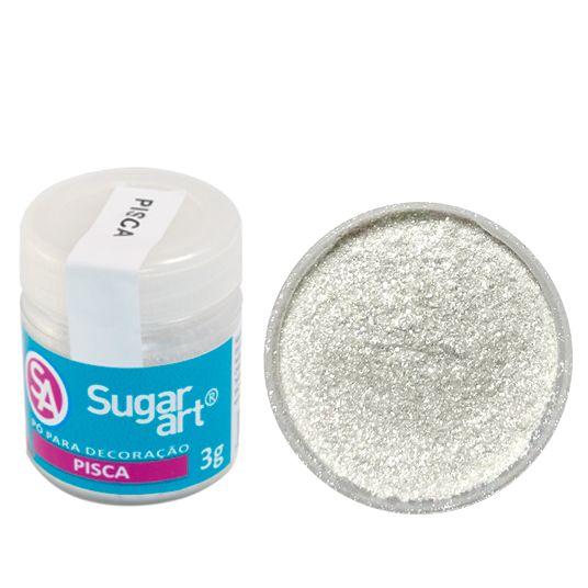 Corante em Pó 3g Sugar Art - Pisca