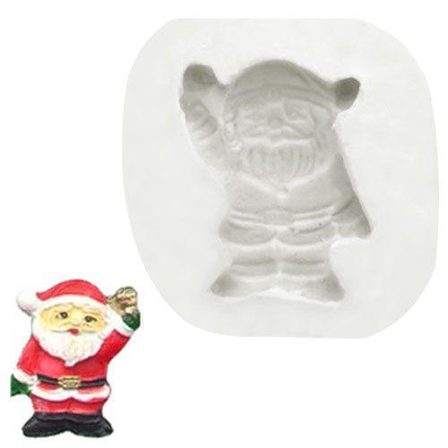 Molde de Silicone Mini Papai Noel 2 - Gummies