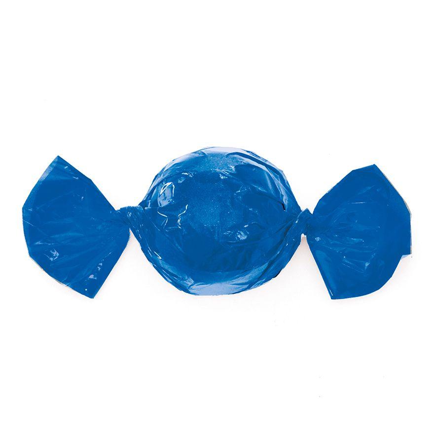 Papel para Embrulhar Trufas 14,5 x 15,5cm (100uni) Azul - Cromus
