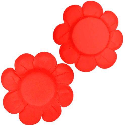 Forminha para Doce Margarida Lisa - Vermelha (50 uni)