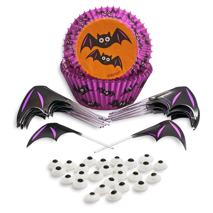 Bat Cupcake Decorating Kit - Wilton