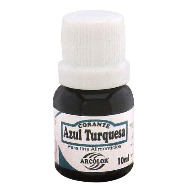 Corante líquido Arcolor 10ml - Azul Turquesa