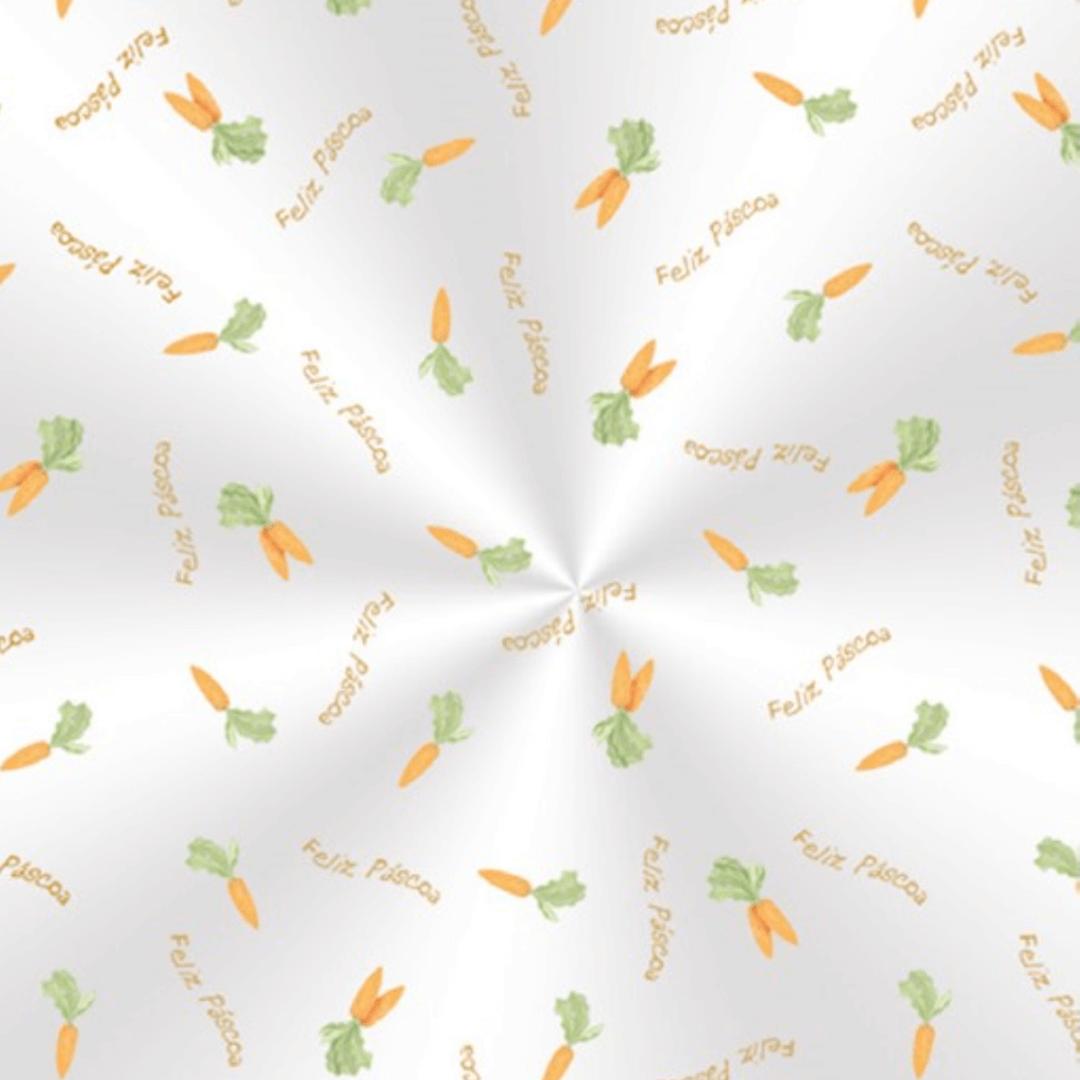 Saco Transparente Cenourinhas 11 x 19,5cm (100 uni) - Cromus