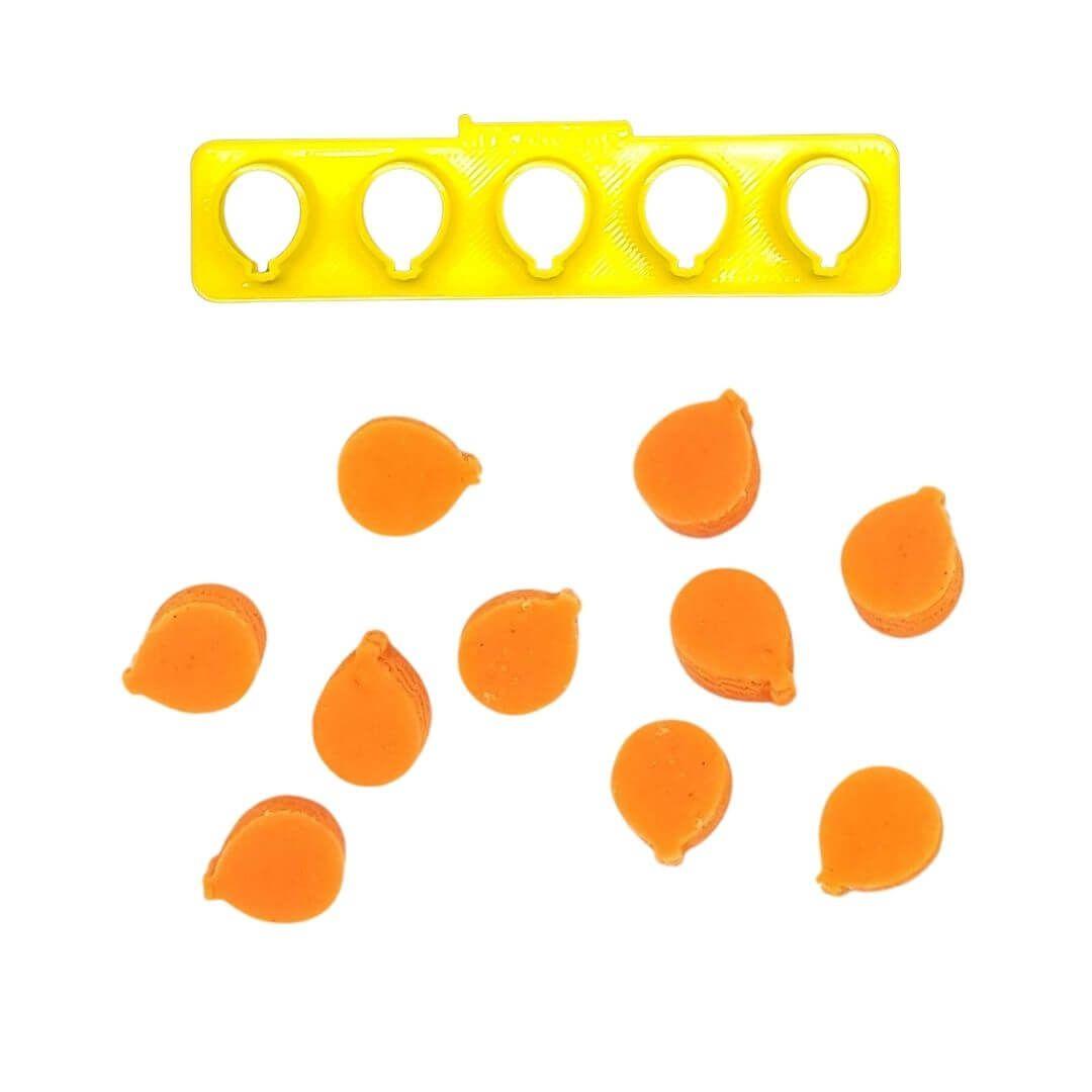 Régua Cortadores Miniatura Bexigas - Imprimire 3D