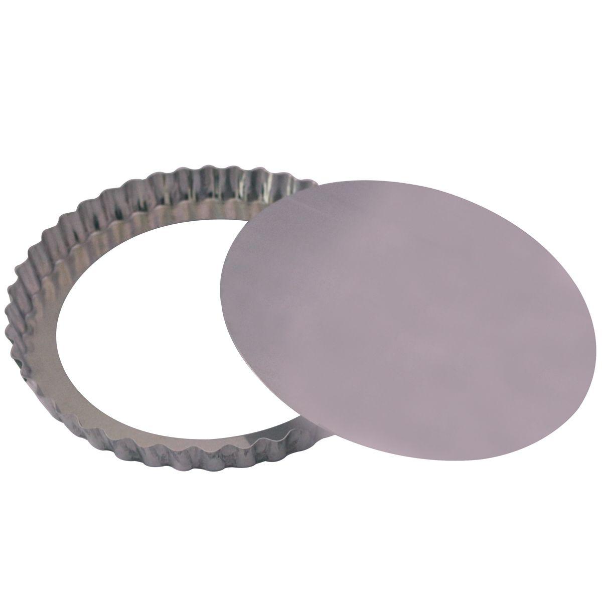 Forma Torta Maçã Fundo Falso (25 x 3cm) - Doupan