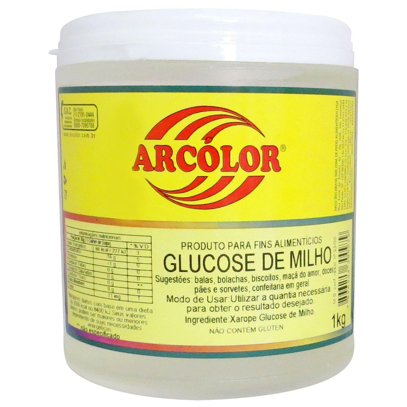 Glucose de Milho 1kg - Arcolor