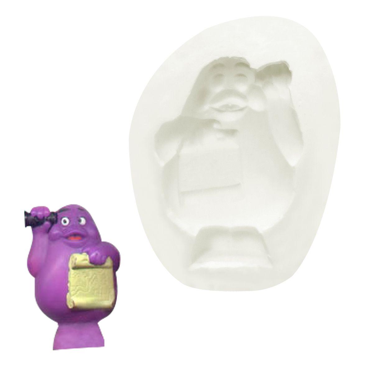 Molde de Silicone Monstrinho 01 - Gummies