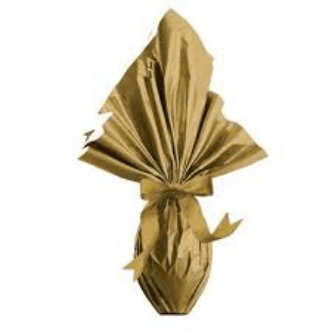 Papel Bopp Express Liso Ouro 39x39cm (25uni) - Cromus