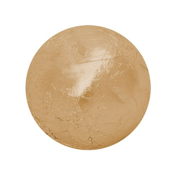 Folha Chumbo 8,0 x 7,8cm (300uni) - Ouro Fosco