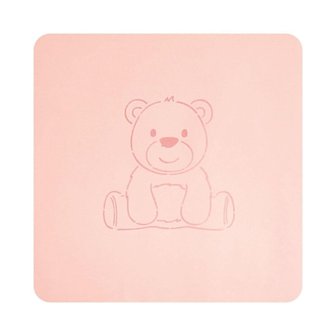 Stencil Urso - Imprimire 3D