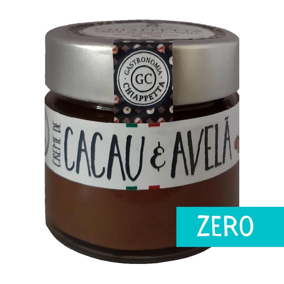 Creme de Cacau e Avelã Zero (170g) - Gastronomia Chiappetta