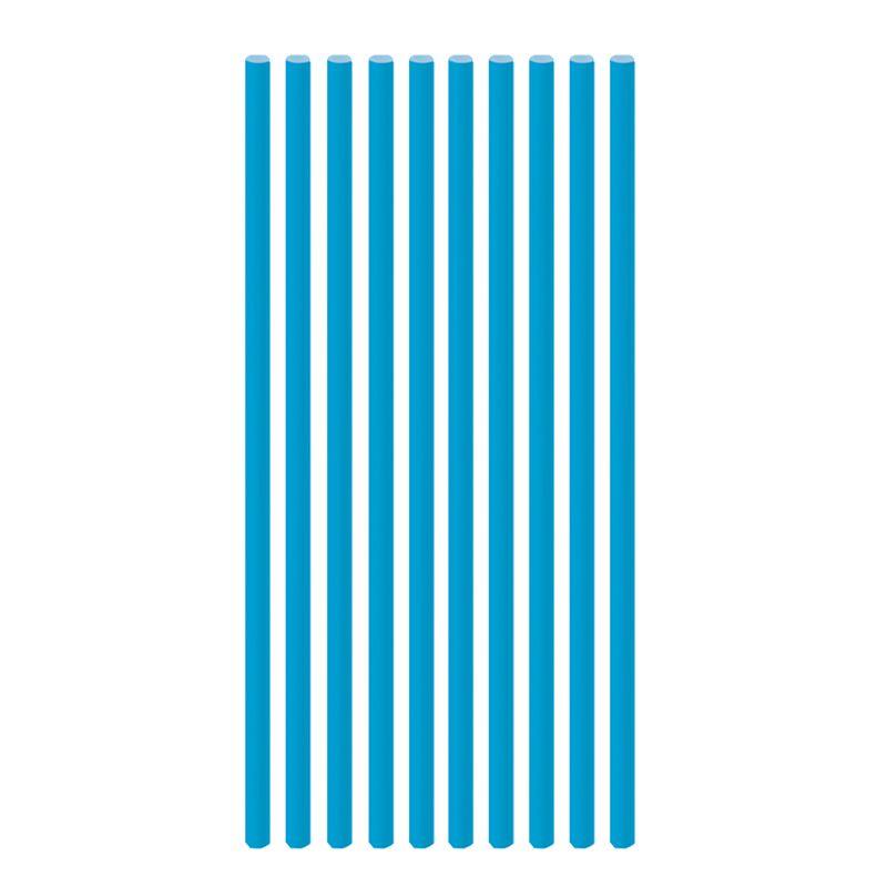 Canudo de Papel Liso Azul Royal (20 uni) - Cromus