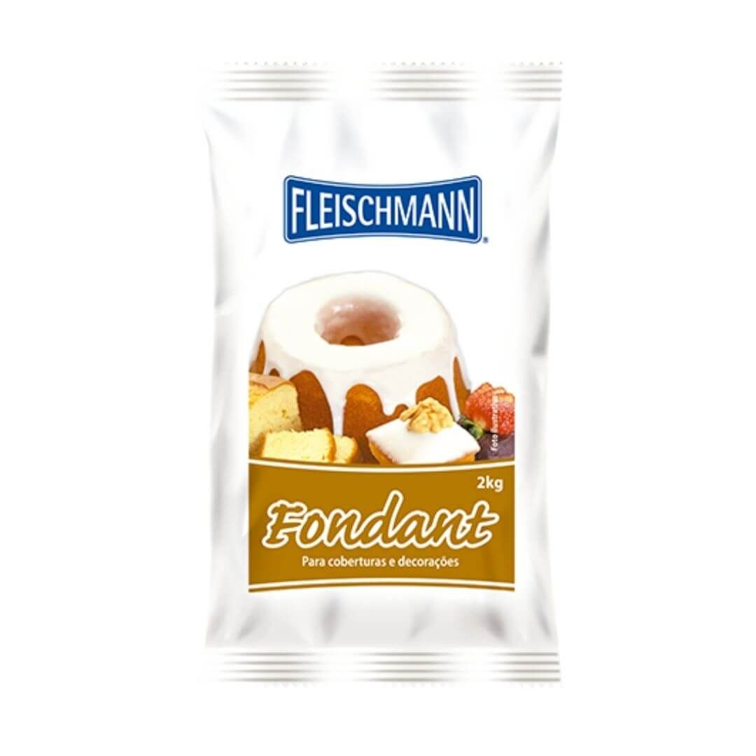 Fondant 2Kg - Fleischmann