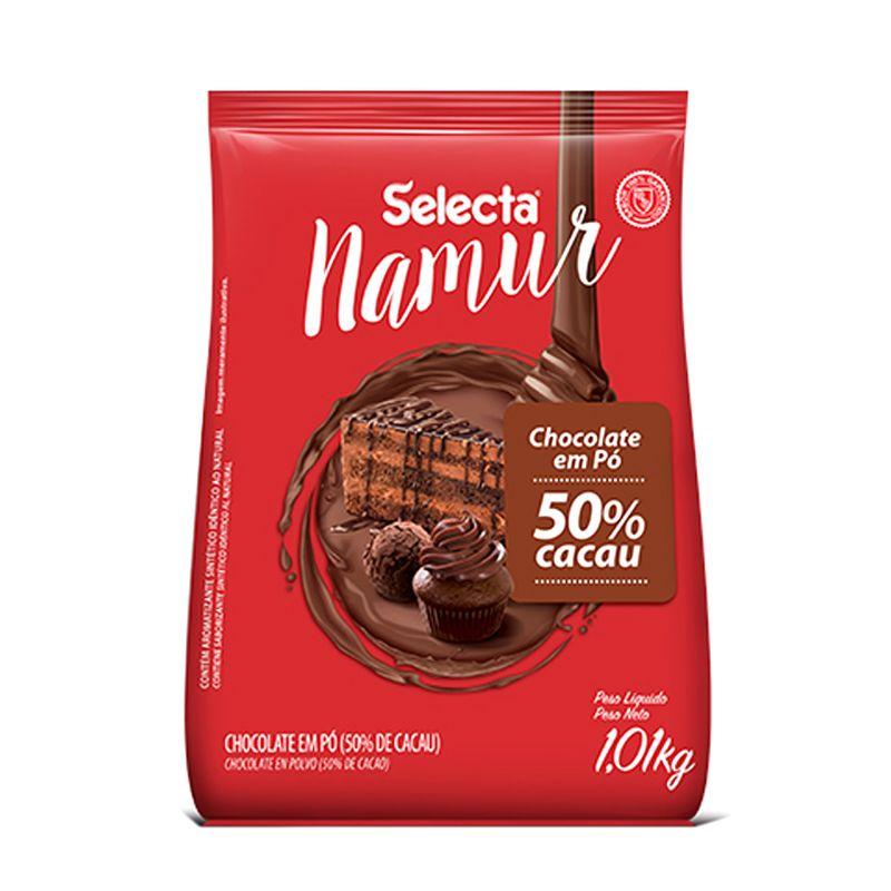 Chocolate em Pó 50% Cacau (1kg) - Selecta Namur Mix