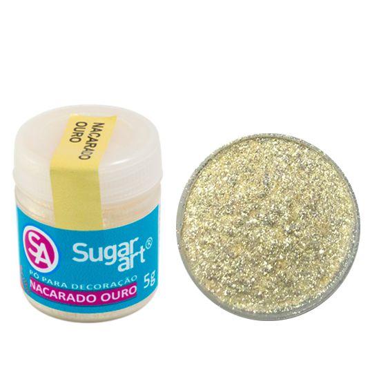 Corante em Pó 5g Sugar Art - Nacarado Ouro