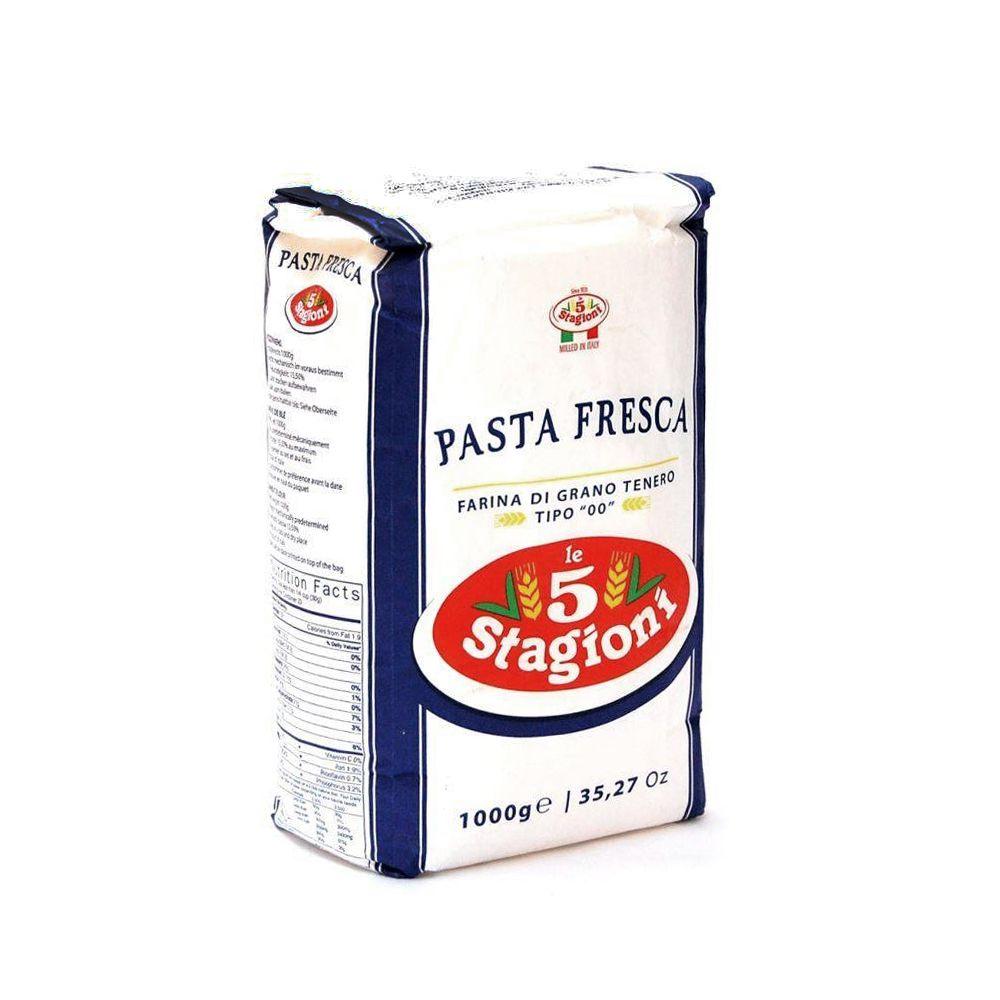 Farinha de Trigo 00 Pasta Fresca (1kg) - le 5 Stagioni