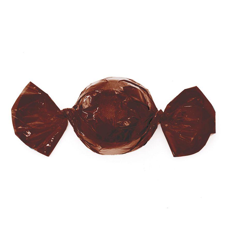 Papel para Embrulhar Trufas 14,5 x 15.5cm (100uni) Marrom Café - Cromus