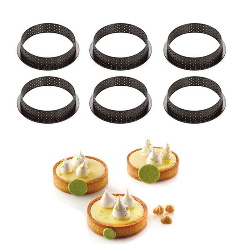 Tarte Ring Redondo 8 x 2cm - Silikomart