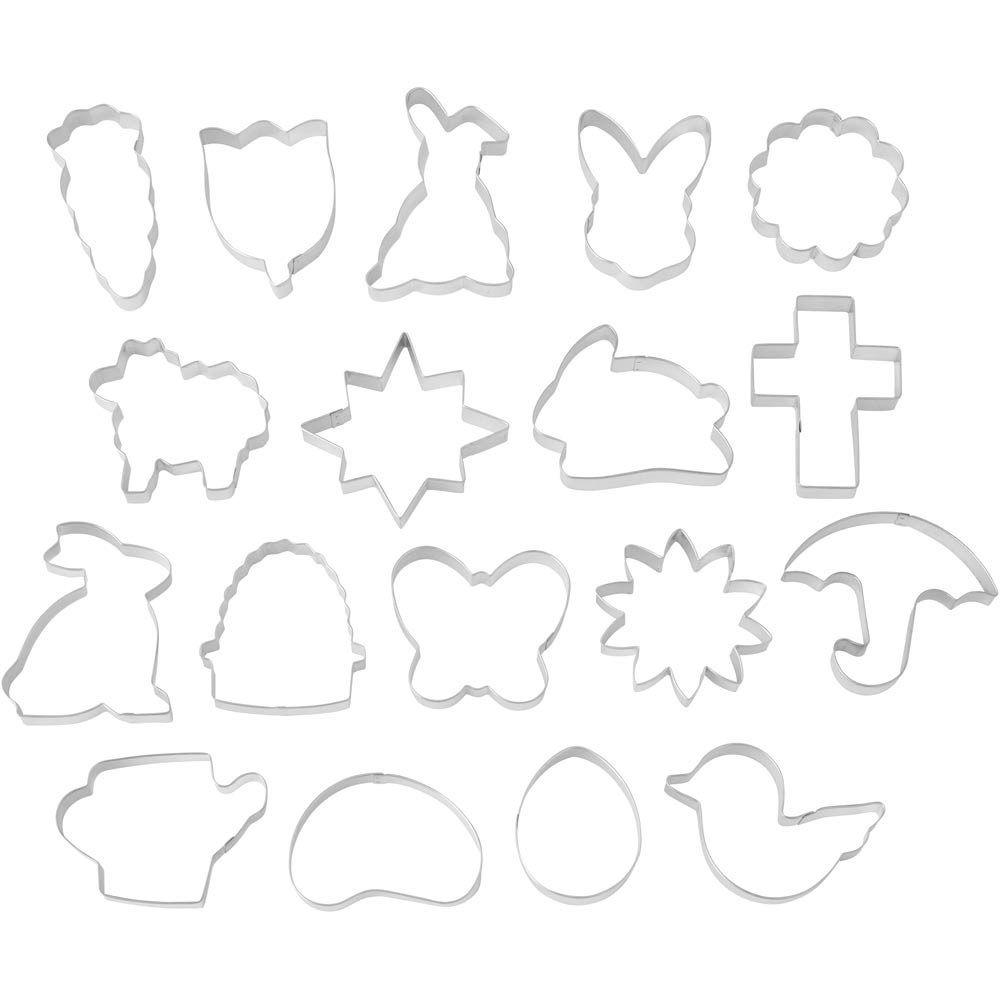 Conjunto 18 Cortadores de Páscoa - Wilton