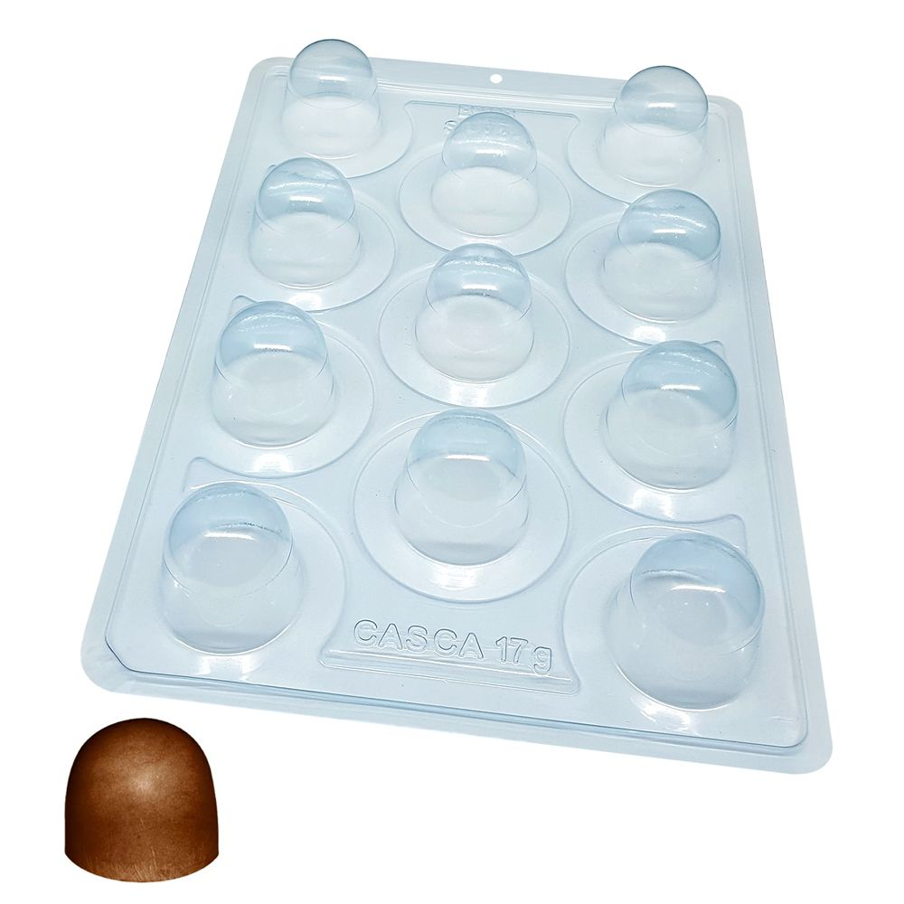 Forma de Chocolate Acetato com Silicone Super Trufa - BWB Premium