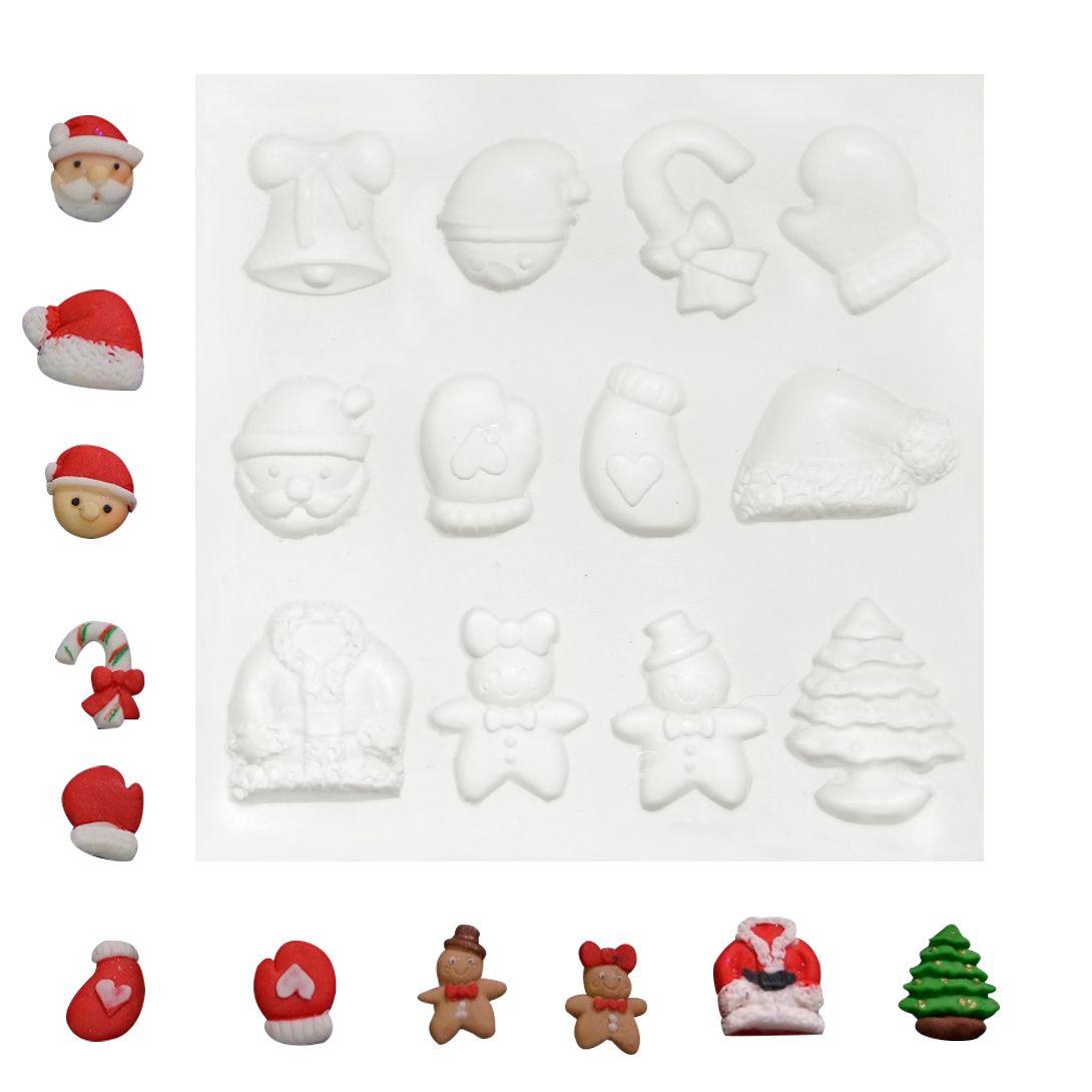 Molde de Silicone Vários Natal 2 - Gummies