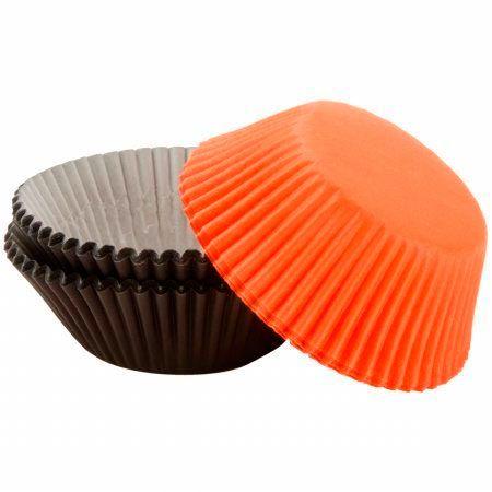 Black Orange Assorted Baking Cups - Wilton