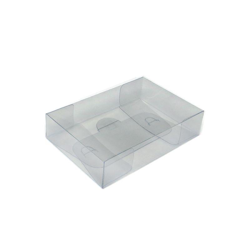 Caixa Acetato para Tablete de Chocolate, Biscoitos e Doces (5uni) 14,5 x 7,5cm - ArtCrystal