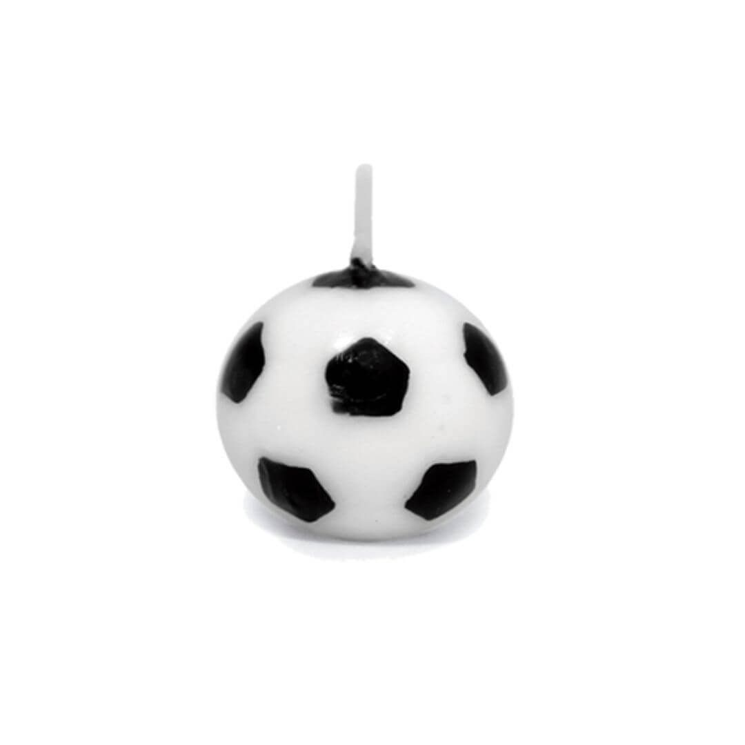 Vela Bola de Futebol (6uni) - Silver Chef