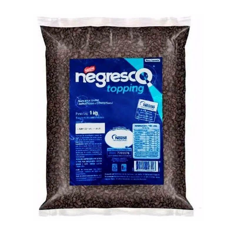 Biscoito Negresco Granulado/Triturado Topping 1Kg - Nestlé