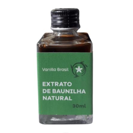 Extrato de Baunilha 30ml - Vanilla Brasil