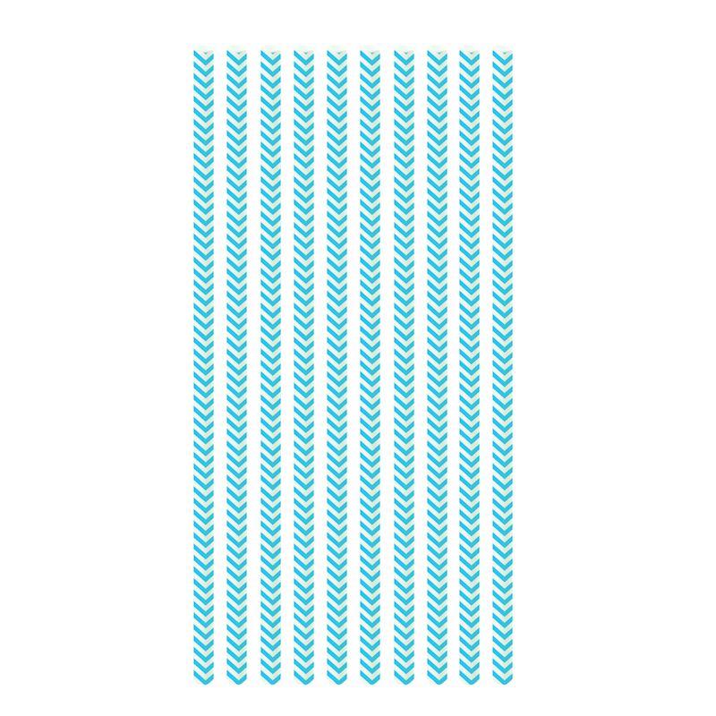 Canudo de Papel Missioni Azul (20 uni) - Cromus