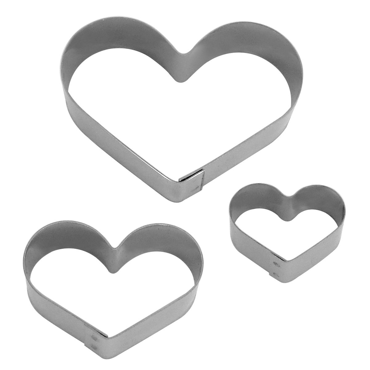 Kit Mini Cortadores Coração - HN