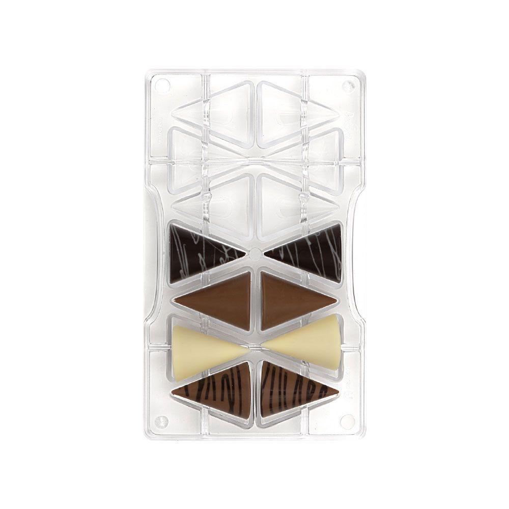 Forma de Chocolate em Policarbonato Cone Médio - Decora