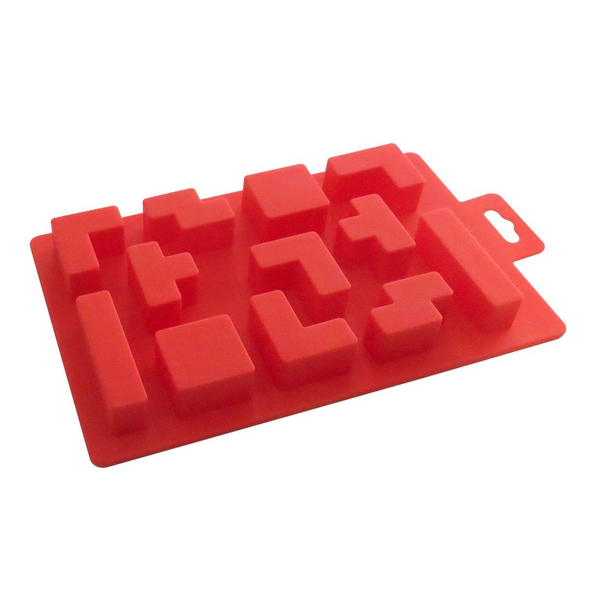 Forma em Silicone Blocos de Tetris - Kenya