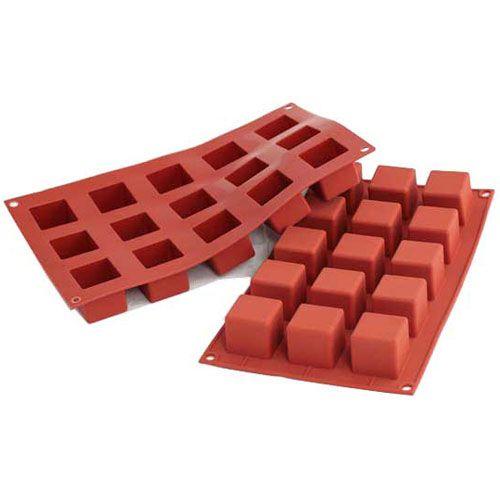 Forma de Silicone Cubo Pequeno - Silikomart