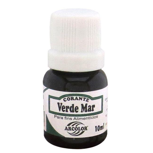 Corante líquido Arcolor 10ml - Verde Mar
