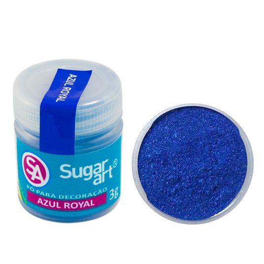 Corante em Pó 3g Sugar Art - Azul Royal