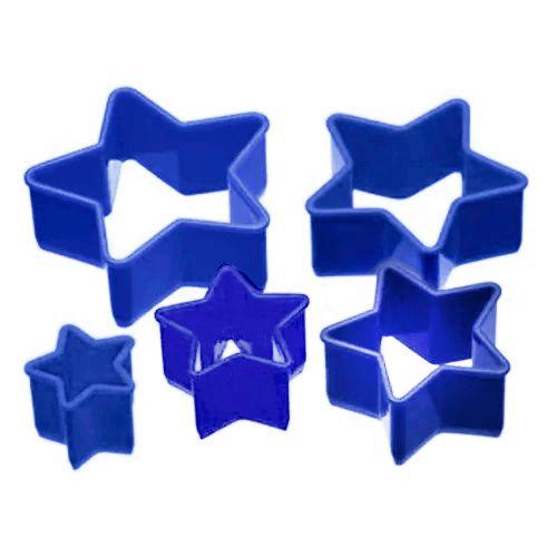 Jogo Cortadores Plásticos Estrela - Doupan