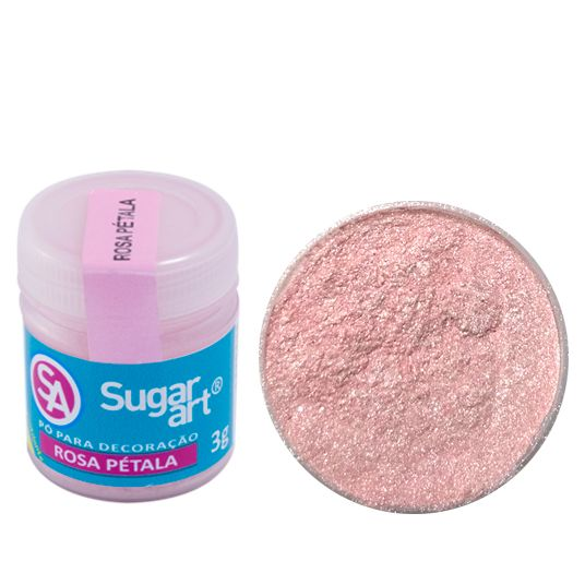 Corante em Pó 3g Sugar Art - Rosa Pétala