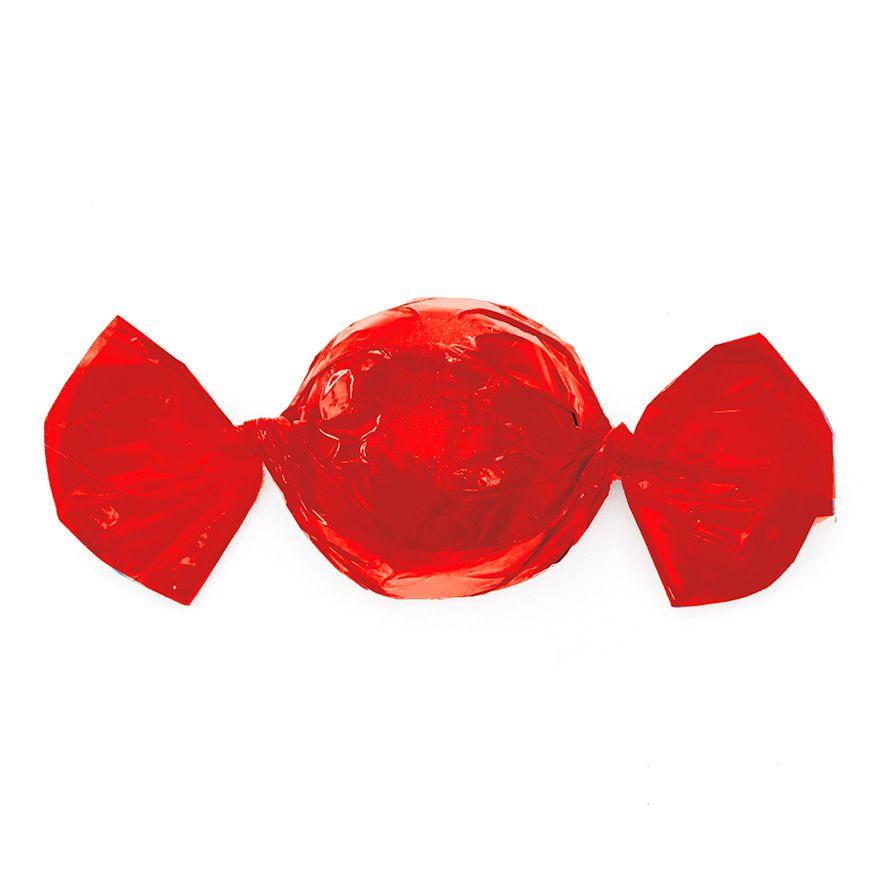 Papel para Embrulhar Trufas 14,5 x 15,5cm (100uni) Vermelho - Cromus